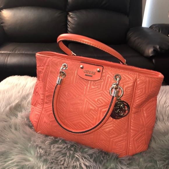 2ed04365507 Guess Bags   Handbag Peach A8   Poshmark